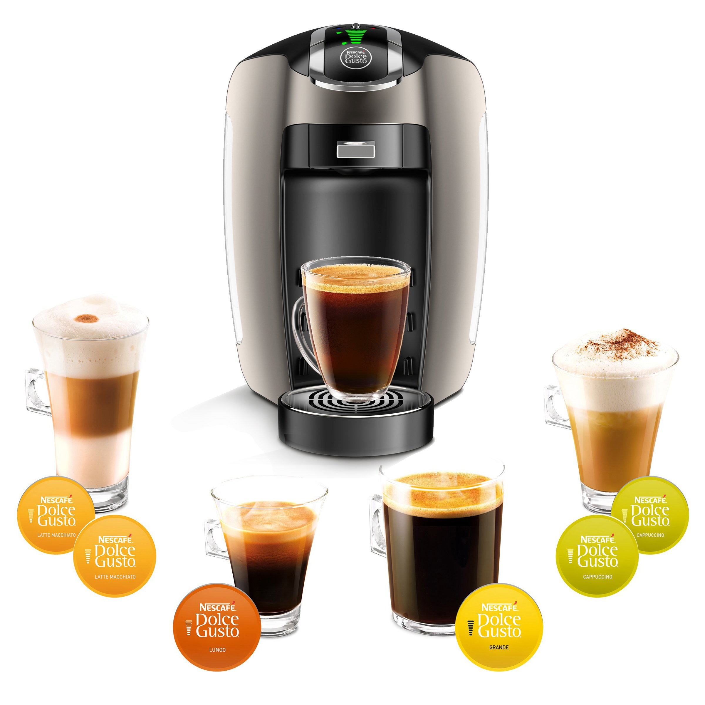 NESCAFÉ Dolce Gusto Coffee Machine, Esperta 2, Espresso, Cappuccino and Latte Pod Machine by Dolce Gusto