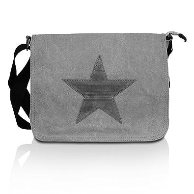 69aa39888d7c8 Glamexx24 Tasche Handtaschen Schultertasche Umhängetasche mit Stern Muster  Tragetasche TE201620