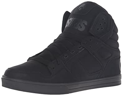 Chaussure Osiris Clone Noir-Work, Black/Metal, 44