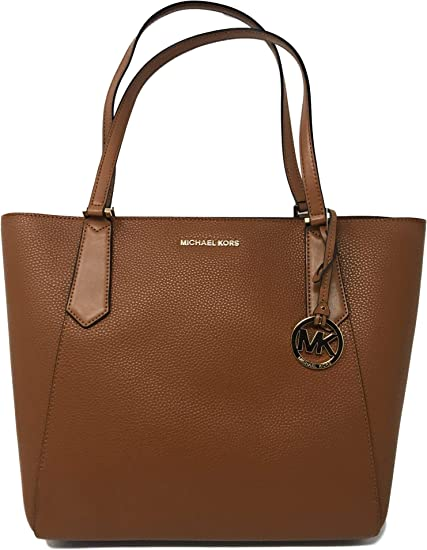 Michael Kors Kimberly Large Bonded Signature Tote Bag