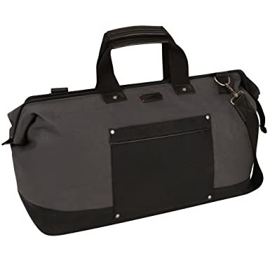 Amazon.com | Levi's Black Sand Beach Duffle Bag, Dark Grey/Black ...