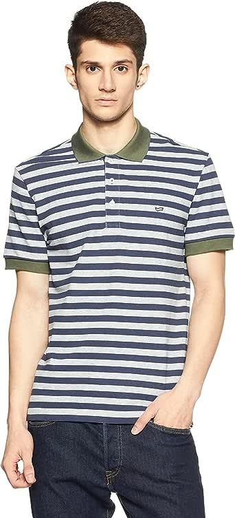 Gas Ralph/S Stripe, Polo para Hombre, Azul (Navy Blue 0194) S ...