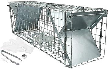 Satis grandes Moorland Ratas, gato Trampa 65 x 17 x 20 cm I Moorland Fallen