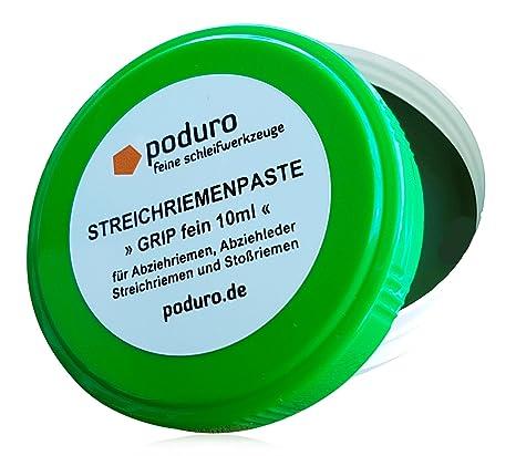 Asentador Pasta » poduro Grip « óxido de cromo afilar Pasta para asentador y asentador para afilado de cuchillos