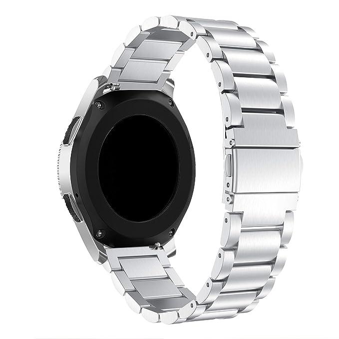 16 opinioni per SUPORE Compatibile Galaxy Watch 46MM Cinturino Bracciale, 22mm Solido Bracciale