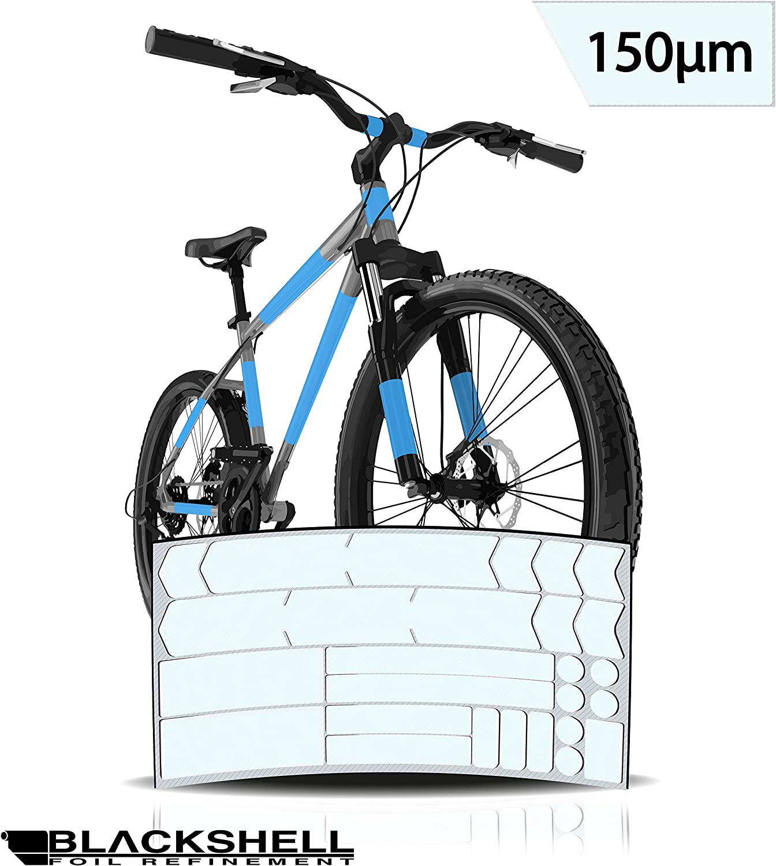 Blackshell - Lámina protectora para cuadro de bicicleta BMX, 29 ...