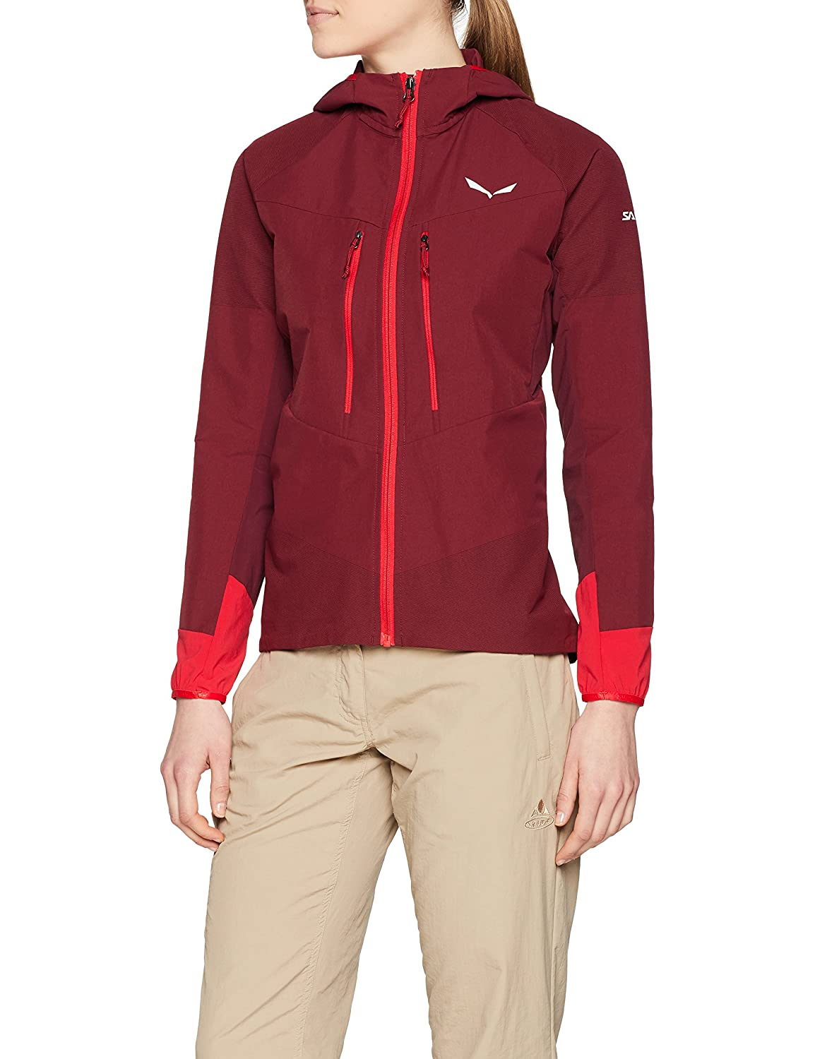 Giacca Sportiva Donna SALEWA Agner Engineered Dst W Jkt
