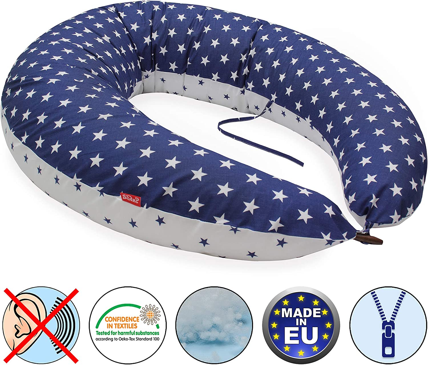 XXL Scamp Button Coussin dallaitement