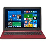 "Flagship Asus VivoBook 15 15.6"" HD Touchscreen Laptop, Intel Core i7-7500U Up to 3.5GHz, 8GB DDR4, 1TB HDD, Tru2Life Video, SonicMaster Audio, HDMI, 802.11bgn, Bluetooth, Webcam, USB 3.1, Win 10 - Red"