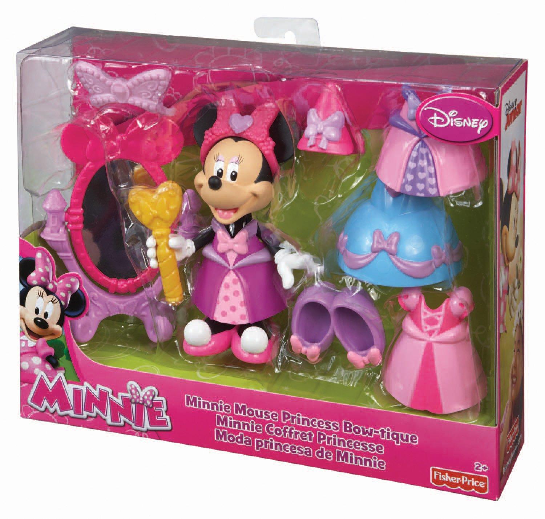 Fisher Price - V4137 - Figurine - Mini Coffret - Princesse Minnie ...