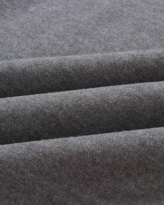 BIUBIU Womens Warm Long Sleeves Oblique Button Neck Splice Warm Pullover Coat Sweatshirts Outwear