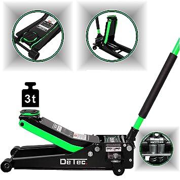 DeTec. hidráulico 3000 kg   - Gato hidráulico (Ultra Plano   Coche Profesional: Amazon.es: Coche y moto