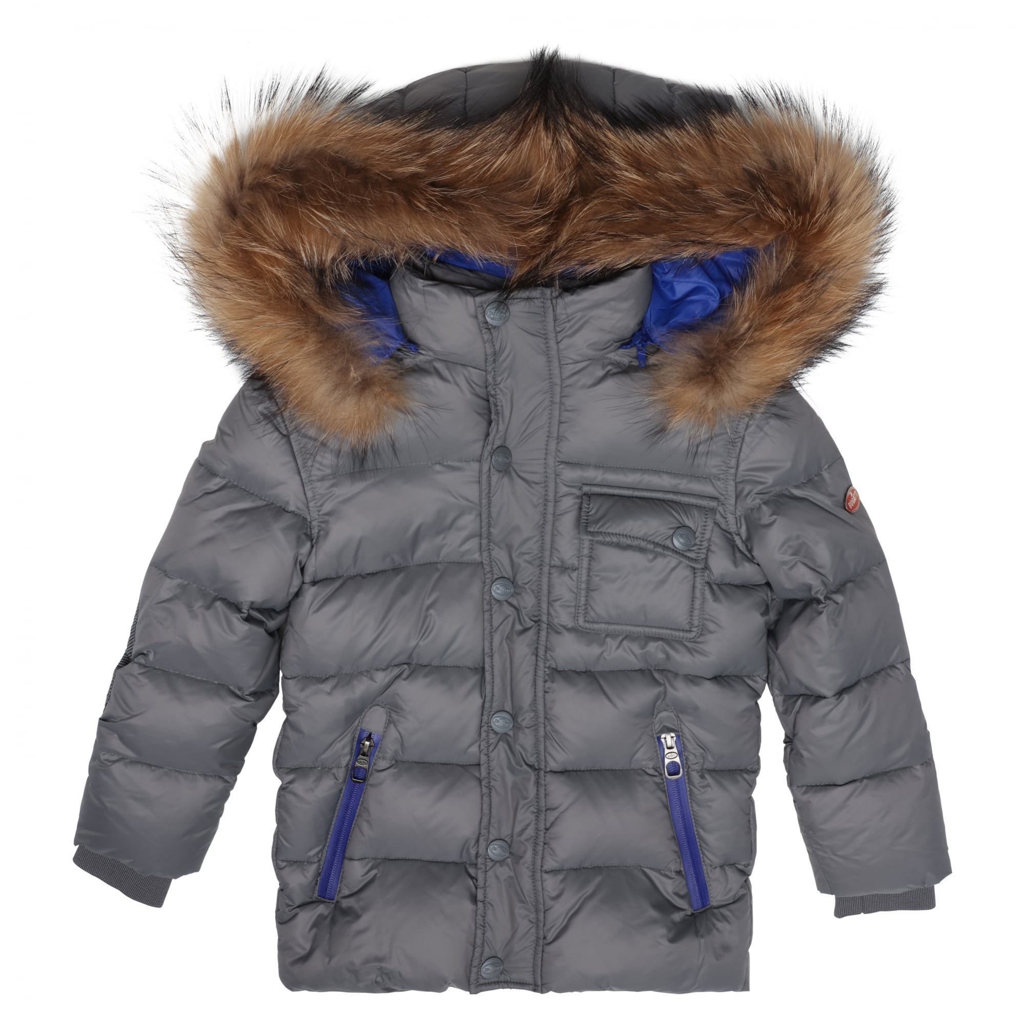Bugatti Kids Jacket Christijan 6 yrs Steel Gray Steel Gray
