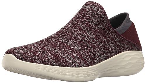1652fadbcb3f Skechers Women s You Low-Top Sneakers Black  Amazon.co.uk  Shoes   Bags
