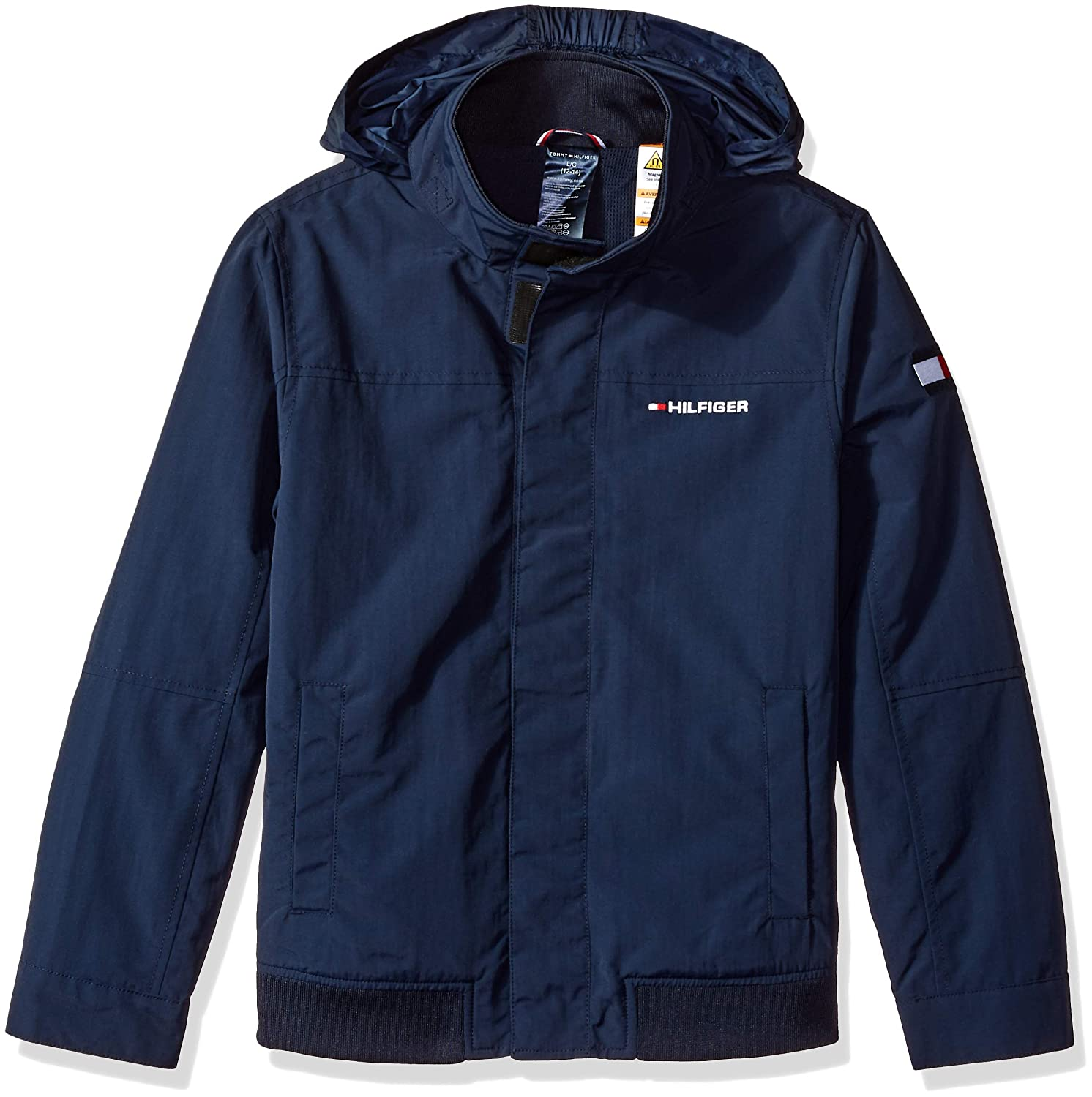 Tommy Hilfiger Adaptive Boys Regatta Jacket with Magnetic Buttons