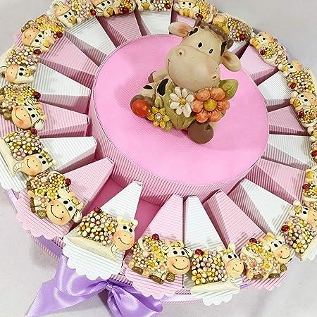 Tartas de bomboneras especiales para niña, ideales para ...