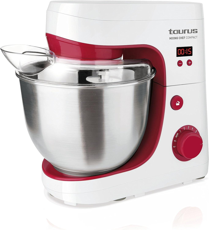 Taurus Mixing Chef Compact - Batidora amasadora, 600 W (Reacondicionado Certificado): Amazon.es: Hogar