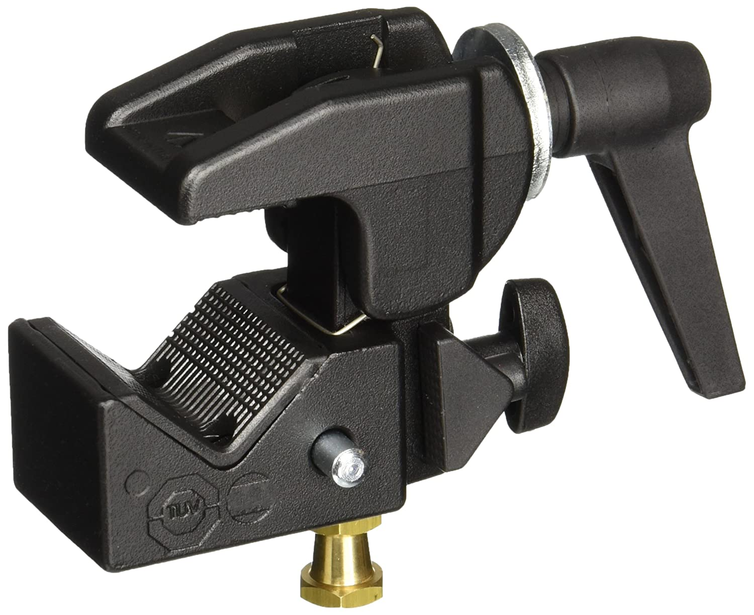 Manfrotto 035RL Super Clamp with 2908 Standard Stud - Replaces 2900 - Black BG2900