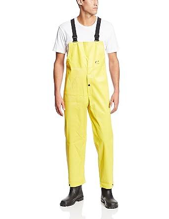 Acanalado traje agua PVC amarillo: Amazon.es: Amazon.es