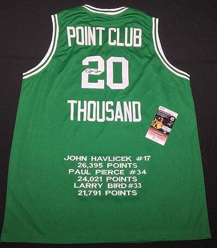 9de2a16d2 Paul Pierce Signed Boston Celtics Basketball Jersey