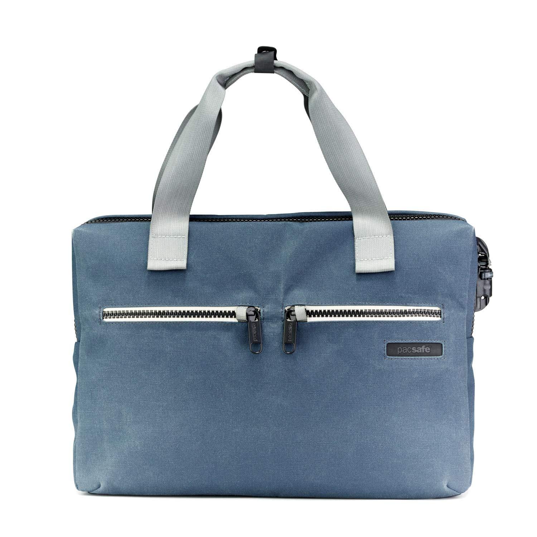 PacSafe Intasafe Anti-theft 15-inch Laptop Slim Brief - Navy Briefcase