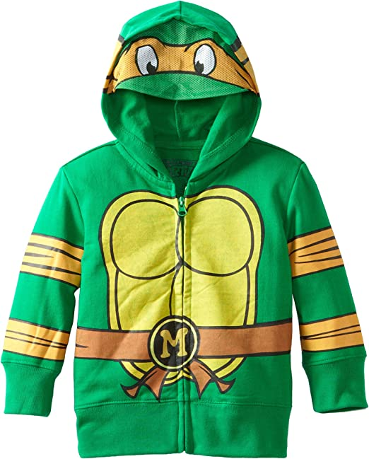 Nickelodeon Toddler Boys Teenage Mutant Ninja Turtles Costume Hoodie, Green, 4T