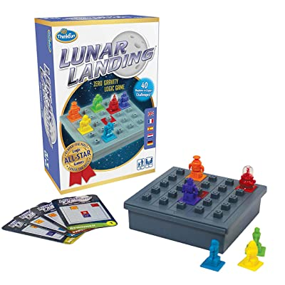 Think Fun Lunar Landing Logic Game and STEM Toy - from The Inventor of The Famous Rush Hour Game: Toys & Games