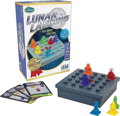 ThinkFun Juego de lógica de Aterrizaje Lunar y Juguete Stem – del Inventor del Famoso Juego de Hora Punta: Amazon.es: Juguetes y juegos