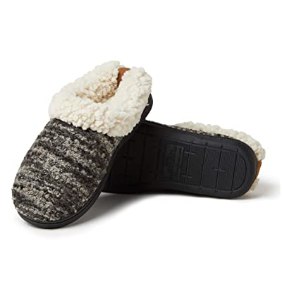Dearfoams Women's Cozy Boucle Clog Slipper | Slippers