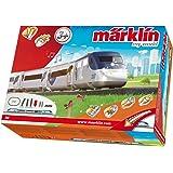 Märklin 29204 - Maqueta de tren de alta velocidad estadounidense (con batería y juntas magnéticas)