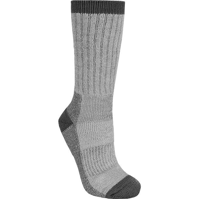 Trespass - Calcetines de botas de montaña Mezcla lana merino Modelo Juke caballero hombre (38