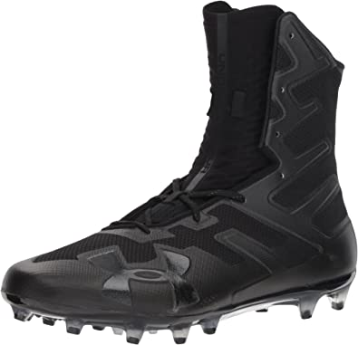 Black Under Armour Mens Highlight MC Football Shoe //Black 001 7
