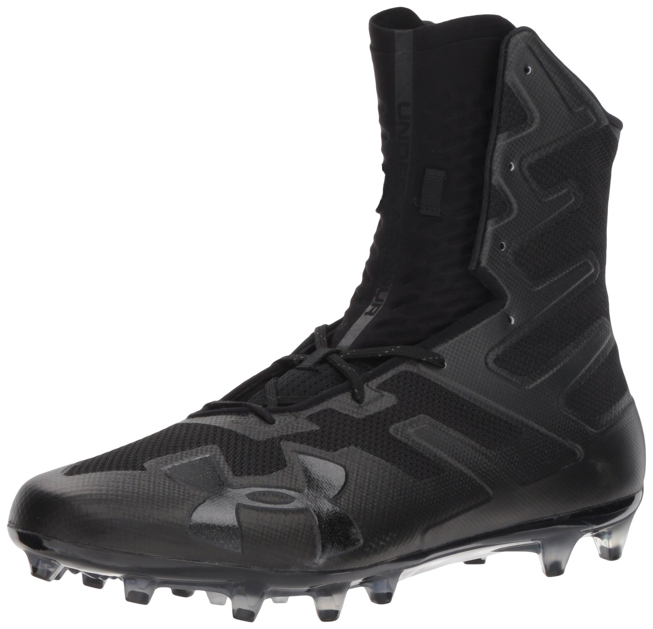Under Armour Men's Highlight MC Football Shoe, 001/Black, 12 by Under Armour