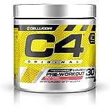 Cellucor C4 Original Pre Workout Powder Energy Drink w/Creatine, Nitric Oxide & Beta Alanine, Fruit Punch, 30 Servings