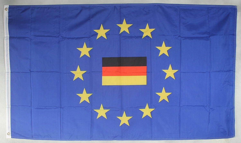 Europa Flagge 90 x 60 cm wetterfest Fahne Ösen Innen /& Außen Hissflagge