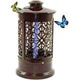 Insect Killer Electric Light Silent Zapper for Indoor or Outdoor, .5 Acre Coverage Kills On Contact Flies And Mosquitos