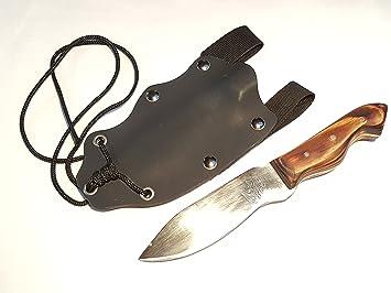 JLBro Tekado cuchillo acero al carbono, funda Kydex negra ...