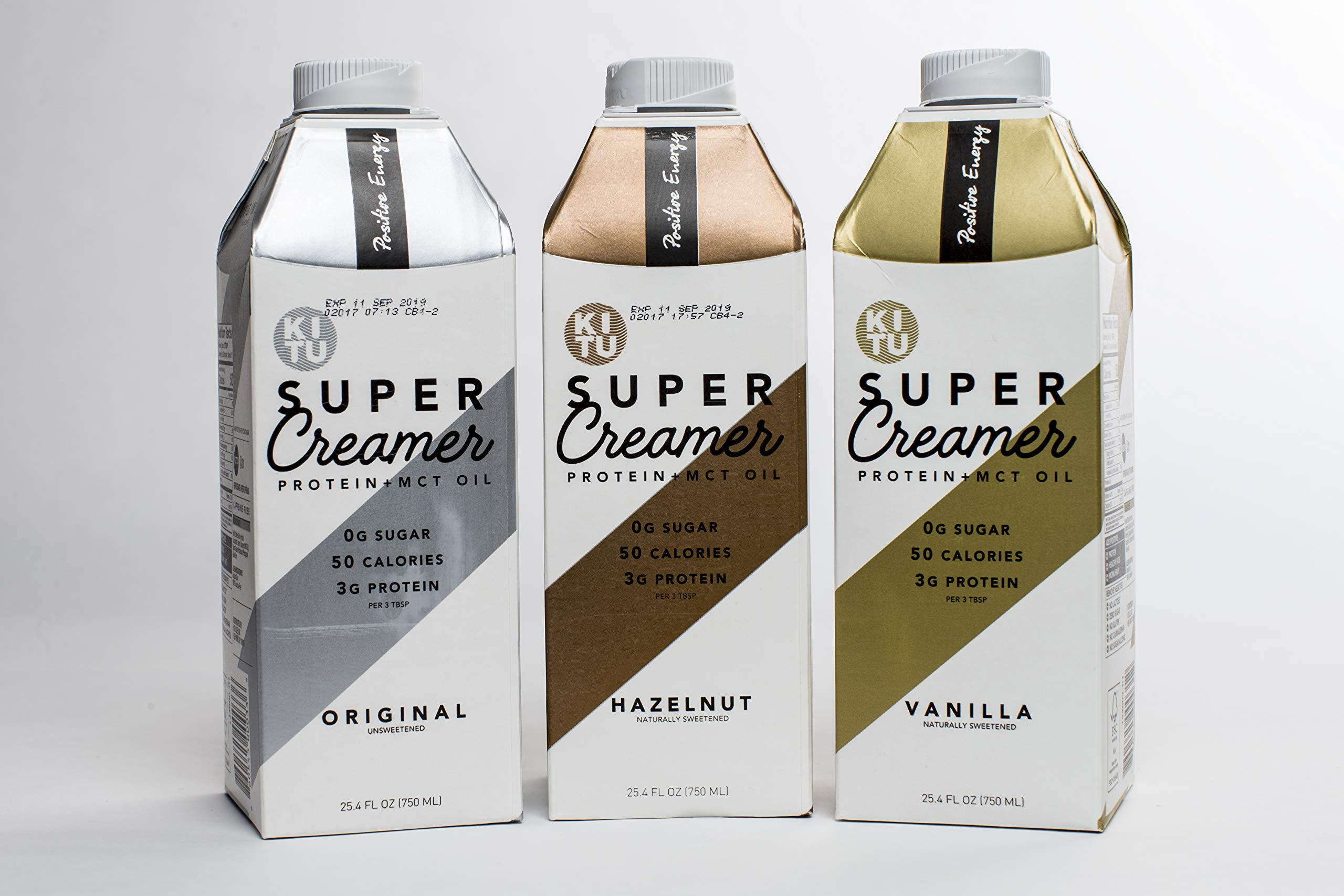 Kitu by SUNNIVA Super Creamer Variety Pack with Protein and MCT Oil, Keto Approved, 0g Sugar, 3 g Protein, 50 Calories, Pack of 3 by Sunniva Super Coffee (Image #3)