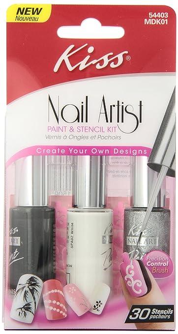 Amazon Kiss Nail Artist Manicure Design Kit Gala Beauty