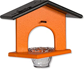 product image for Poly Single Oriole Hanging Bird Feeder (Black & Orange)
