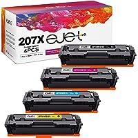 ejet 207X wkłady z tonerem kompatybilne z HP 207A W2210X W2211X W2212X W2213X dla HP Color LaserJet Pro MFP M283fdw…