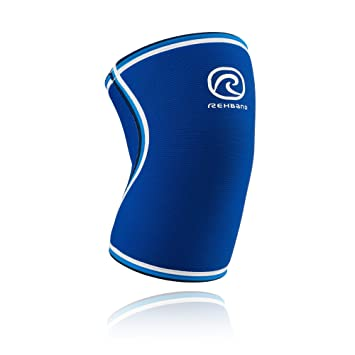 ac3743fd74 Rehband Blue Line Knee Support 7084 7mm - Large - Expand Movement & Cross  Training Potential