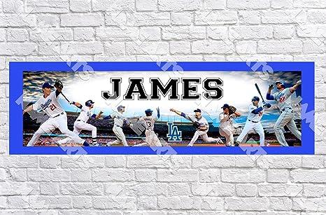 Amazon.com: Nombre personalizado/personalizado la Dodgers ...