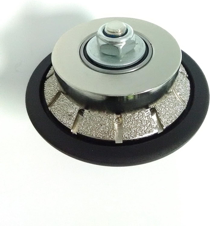1 4 Inch E Bevel Diamond Hand Profiler Router Bit Profile Wheel Vacuum Brazed Profile Bit For Granite Terrazo Marble W Rubber Protection 5 8 11 Thread Amazon Com