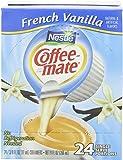 Coffee Mate French Vanilla Liquid Coffee Creamer 24 ct Box (Pack of 4)