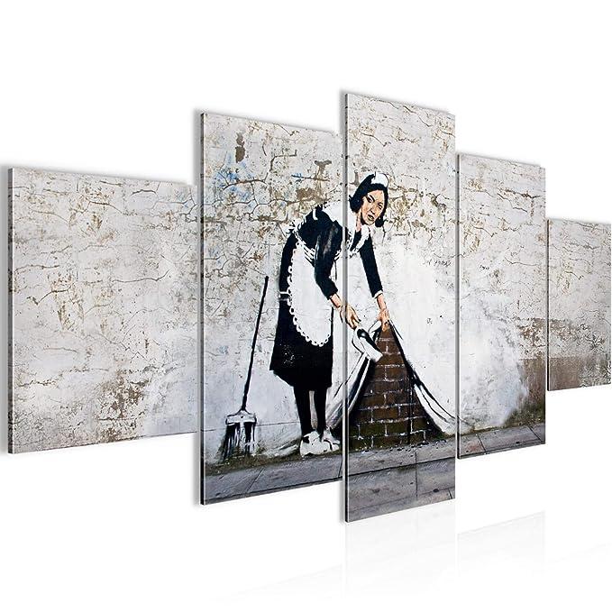 printerland.it Quadri Moderni Soggiorno Banksy Dj Monkey ...