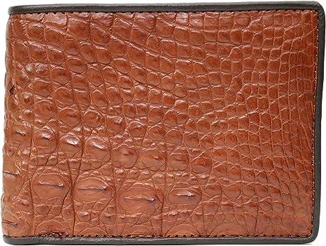 ThanhVinhCrocodile Genuine Crocodile Alligator Skin Leather Man Bifold Wallet