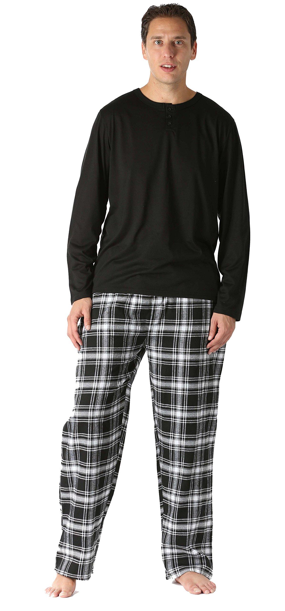 #FollowMe 44911-7-XXL Pajama Pants Set For Men/Sleepwear/PJS