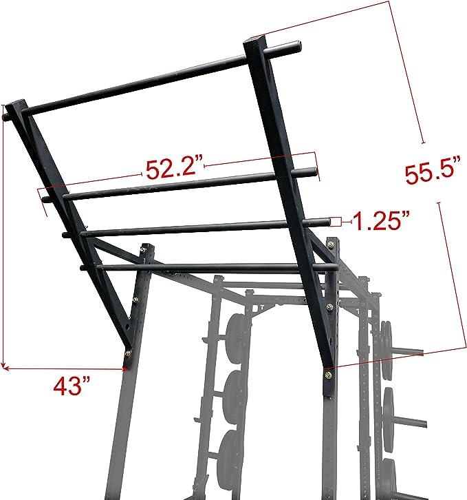Titan Flying escalera barra de dominadas de flexiones para poder estante: Amazon.es: Deportes y aire libre