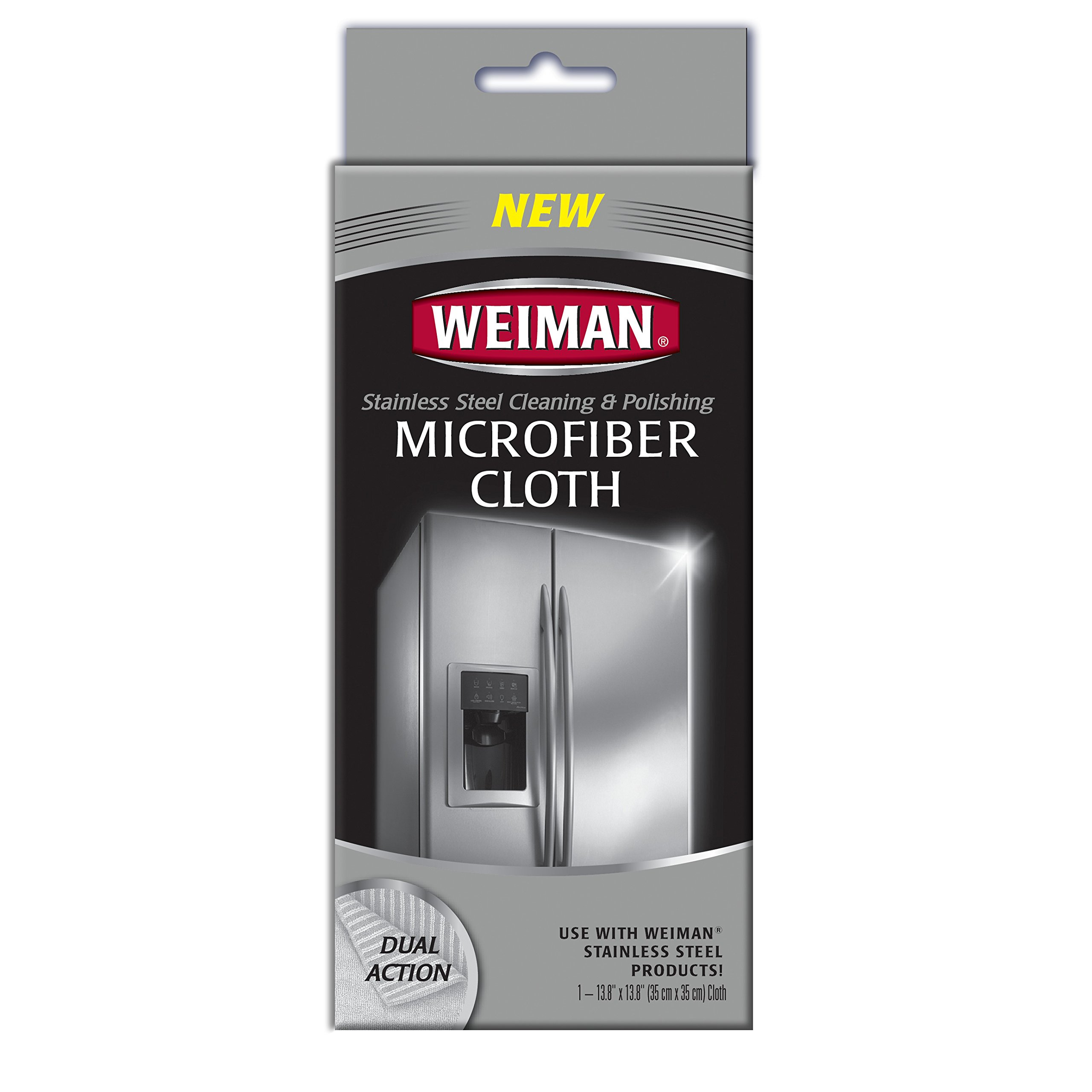 Weiman Microfiber Cloth for Stainless steel